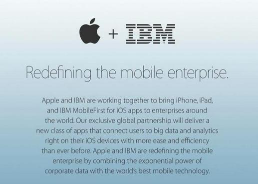 apple+ibm