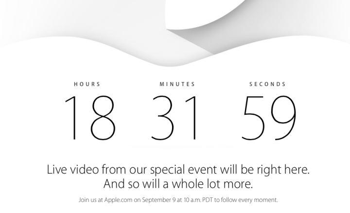 Countdown to Apple Special Event