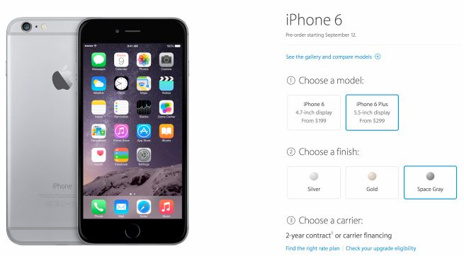 iphone 6 pre-order
