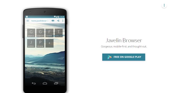 Javeling Browser