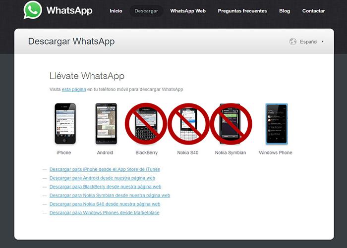 WhatsApp-soporte-Symbian-BlackBerry-Froyo.jpg