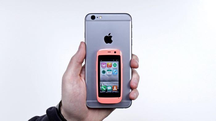 Telefono mas pequeño del mundo